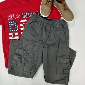 Boys' Size 6 Pull on Cargo Pants